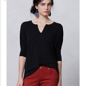 Anthropologie Dolan Split tee
